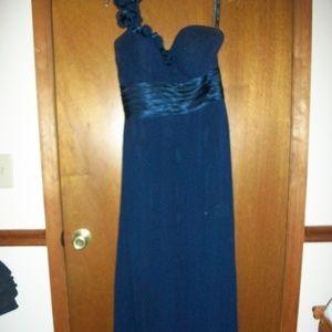 Womens Bill Levkoff Bridesmaid dress navy Size 10